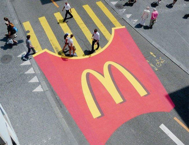 comunicação visual rua