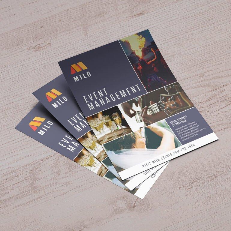 Panfleto, flyer e folder