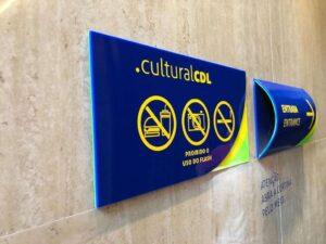placa de sinalização interna para empresas